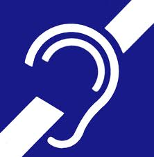 Sign of deafness